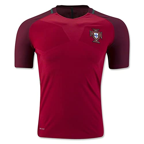 1d0855c367c 2016 2017 UEFA Euro Cup Portugal Home National Football Soccer Jersey In In  Red