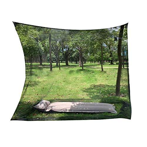 Wood.L Camping Moskitonetz Für Mesh Zelt Moskito Zelt Moskitonetz Einzelbett Robuster Kompakter Leichter Zelt Ohne Halterung Für Trekking, Camping, Outdoor