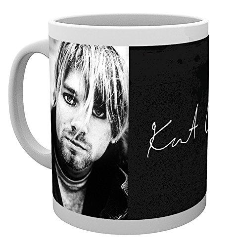 GB Eye Signatur Kurt Cobain Becher, Mehrfarbig