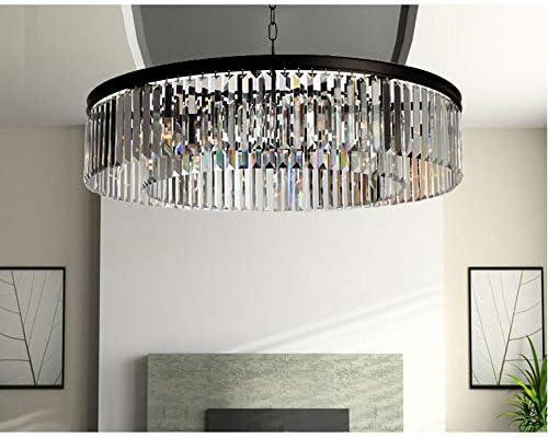 Circle crystal chandelier _image2