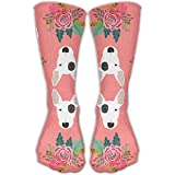Yuanmeiju Penn State LionKnee High Graduated Compression Calcetines For Women And Men - Best, Nursing, Travel Flight Calcetines - Running Fitness (Long 50cm