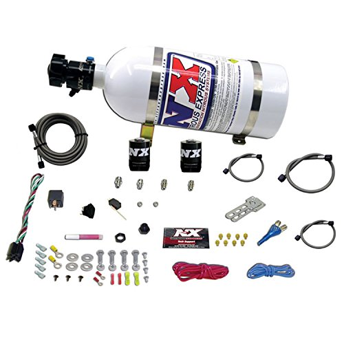 Nitrous Express 20921-10 35-150 HP EFI Single Nozzle System with 10lbs. Bottle for Dodge
