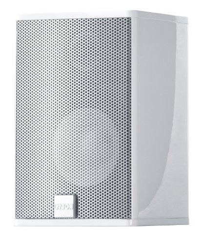 Canton CD 1020 2-Wege Kleinlautsprecher (45/100 Watt) Paar Silber