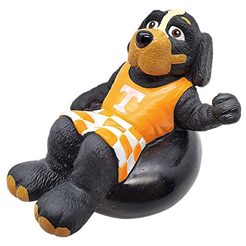 Rubber Tubbers University of Tennessee - Premium Bath Toy Collectible Sports Memorabilia - First Ever Collectible Line of Licensed Floating Collegiate Mascots (Tennessee Volunteers | Smokey)