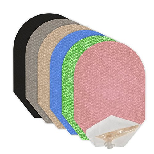 Solid Color Pouch Covers Set of 6 Open End