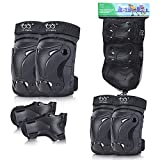 Best Roller Derby Wrist Rollers - Skateboard Pads Knee and Elbow Pads for Kids Review