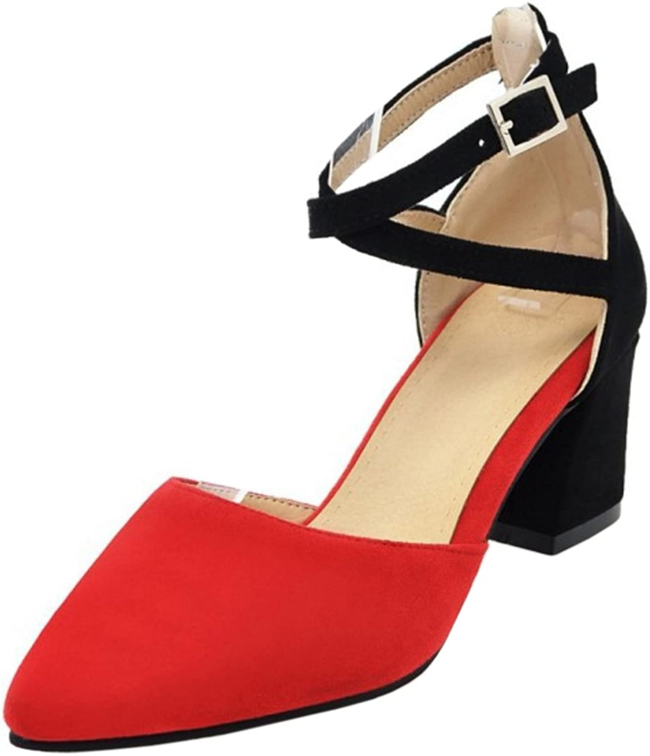 AicciAizzi Women Closed Toe Pumps