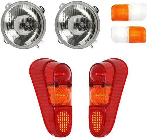 Lentille de feu arrière I lentille de feu latéral I ensembles de phares pour Renault I R4 L TL GTL Savane R4 F4 I F6 R4 R3 Rodéo