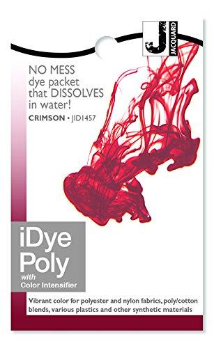 Jacquard IDYE-457 iDye Poly, 14 Grams, Crimson