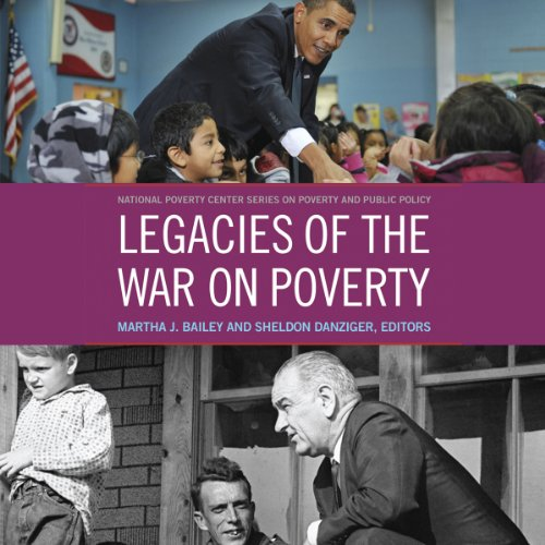 Legacies of the War on Poverty audiobook cover art
