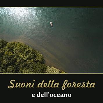Suoni della foresta e dell'oceano - Musica rilassante per lo yoga, la meditazione, la spa, il sonno profondo e lo studio