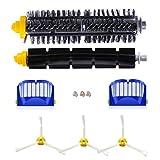 CNASA Pack Kit Cepillos Repuestos de Accesorios para Aspiradoras iRobot Roomba Serie 600-un Conjunto de 10