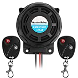 Rupse Waterproof Motorcycle Remote Control Alarm Warner Anti-theft Security Burglar Alarm System