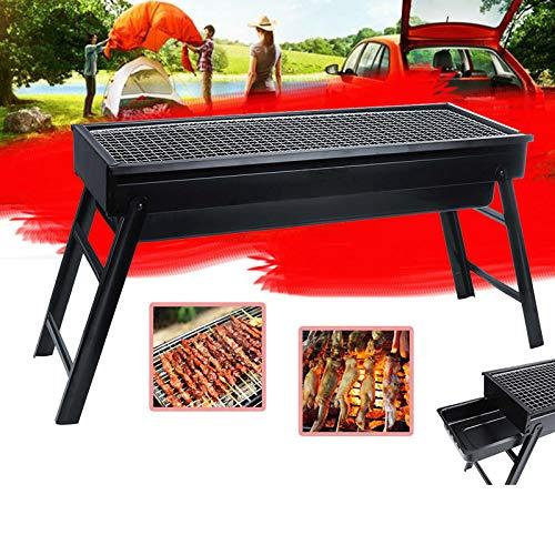 Plegar BARBACOA Parrilla Fusain Barbecue Camping Picnic Grill Stove23
