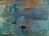 1art1 Claude Monet - Impression, Sonnenaufgang, 1872 Poster