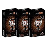 NottyBoy Chocolate Flavor Dotted Lubricated Condoms, 30ct WIth Disposable Pouches