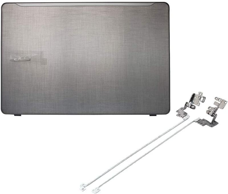 Laptop Replacement LCD Screen Hinges and Top Back Cover Case Compatible for Acer Aspire F5-573 F5-573G F5-573T (Sliver)