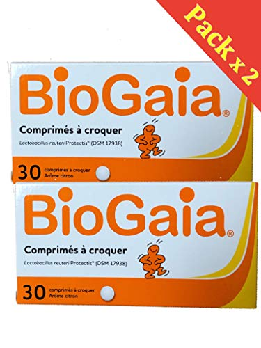 BioGaia Lactobacillus Reuteri ProTectis Probiotique lot 2 X 30 Comprimés