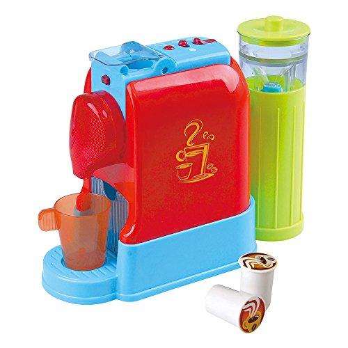 PlayGo Elektrischer Gourmet-Kaffeeautomat mit Zubehör, Mehrfarbig (Color Baby 44578)