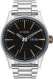 Nixon Orologio unisex quarzo analogico display e cinturino in acciaio inox A356–2222–00