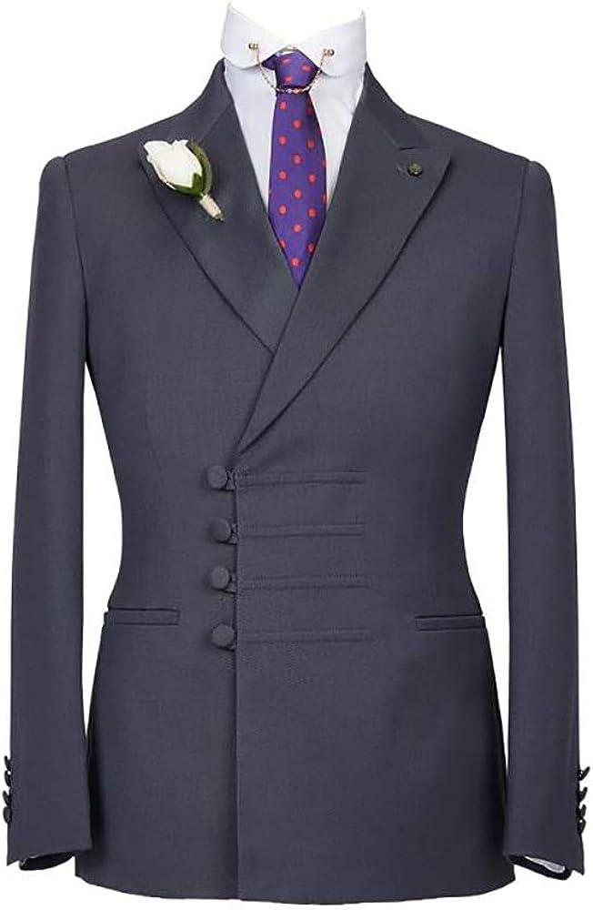 Gent's Business Formal Slim Fit Tuxedo Professional Wear Best Man Wedding Dress Suit