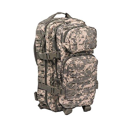 Mil-Tec US Assault Rucksack 20 Liter Laser Cut Camouflage At-Digital