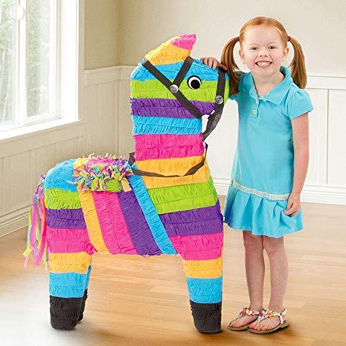 Super Sized Multicolor Party Donkey Pinata