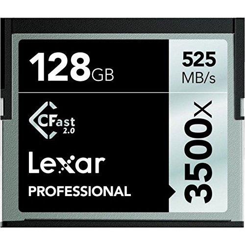 Lexar LC128CRBEU3500 Professional 3500x (525MB/s) Pro CFast