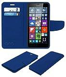 Acm Mobile Leather Flip Flap Wallet Case Compatible with Microsoft Lumia 640 XL