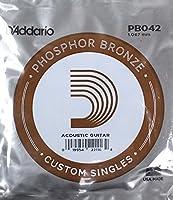 D'Addario PB042 Phosphor Bronze バラ弦×5本