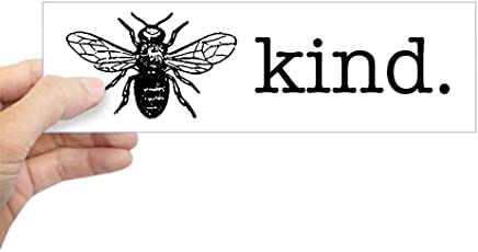 "CafePress Be Kind Bumper Sticker 10""x3"" Rectangle Bumper Sticker Car Decal"