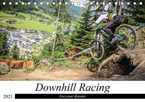 Downhill Racing (Tischkalender 2021 DIN A5 quer)