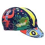 Cinelli Jungle Zen Cap für Herren, Mehrfarbig, Einheitsgröße