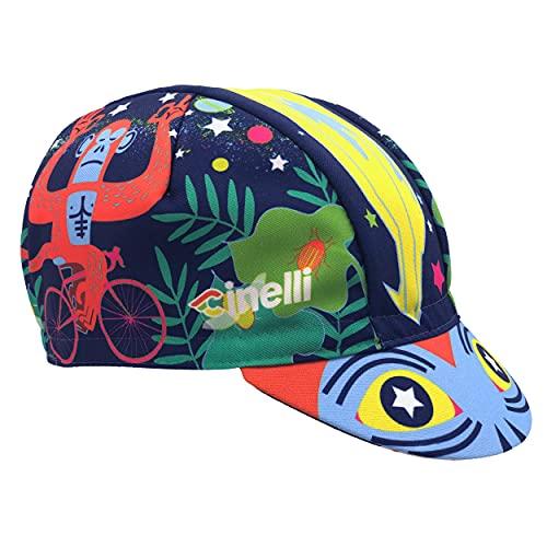 Cinelli Jungle Zen Cappellino da Uomo, Multicolore, Taglia Unica