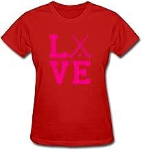 Women's Women's Love Field Hockey T-Shirt Short Sleeve T-Shirt