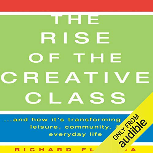 The Rise of The Creative Class  By  cover art