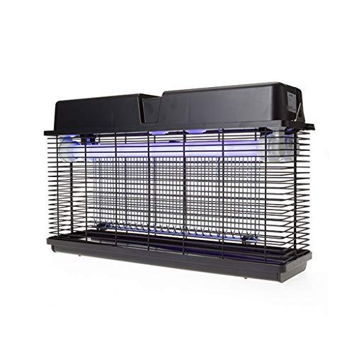 L-com mygglampa elektrisk myggdödare utomhus, intelligent vattentät på väggen fäst trädgårdsportal-myggfodral för huvud- och handelsbruk LED myggförstörande lampa