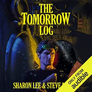 The Tomorrow Log audiobook cover art