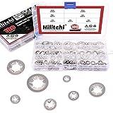 Hilitchi 180 Piece 304 Stainless Steel Internal Tooth Starlock Washers Quick Speed Locking...