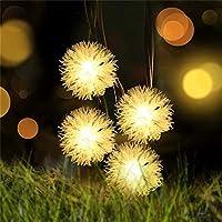 省エネ クリスマスライトソーラーストリングライト屋外装飾フェアリーテイルライト防水ライトウェディングパーティーの庭の装飾 窓 (Emitting Color : Red, Wattage : 5M 20LEDs)