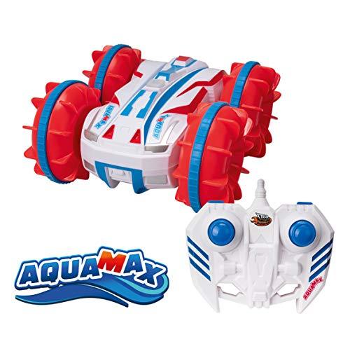 Xtrem Raiders AquaMax, Niño Y Niña Reversible, Coches Teledirigidos para Niños, Radio Control RC, Anfibio, Gira 360º, Ruedas Off-Road, Regalos Divertidos (Xtream Raiders XT180906)