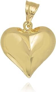 Best puffed heart charm Reviews