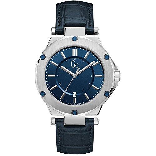 GC Uhr Analog mit Leder Armband X12004G7S
