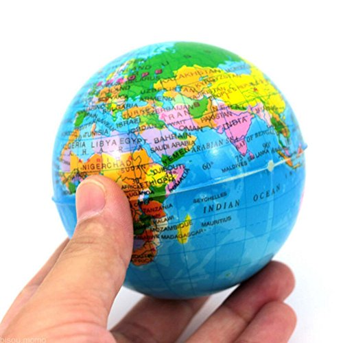 Why Choose World Map Earth Globe Squeeze Foam Ball Hand Wrist Exercise Stress Relief