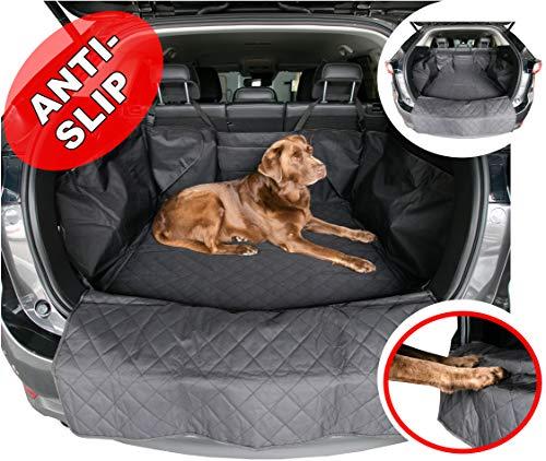 fixcape Doggy Komfortable Kombi SUV Schutzmatte Hundedecke Kofferraumschutz Kofferraumdecke Schondecke Auto Kofferraum Hund Seitenschutz antirutsch