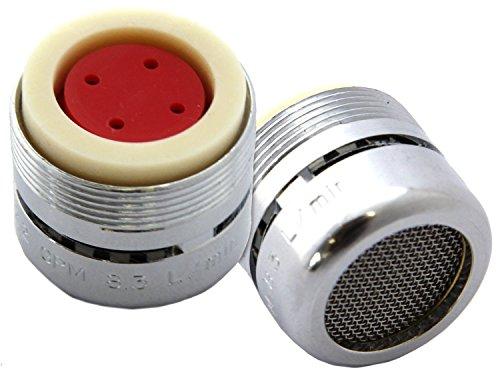 Neoperl primavera Flo 2,2GPM ranurado grifo aireador | fontaneros elección cuello de flujo Full contundente flujo grifo de la cocina & baño final
