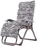 UIZSDIUZ Tumbonas Tumbonas for sillas de Gravedad Cero, Silla Plegable y reclinable con tumbonas Jefe Almohada, Hecho de Marco de Acero y Teslin Tela Reclinable (Color : Lla1792ty)