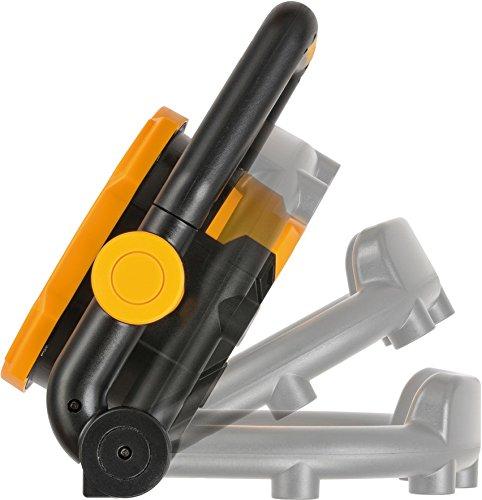 Brennenstuhl Projecteur LED portable Pliable Rechargeable 30W (2600 Lumen, IP54, Équipés de Puissant Aimants intégrés, 2 Modes d'éclairage, rotation 180°), Jaune&Noir