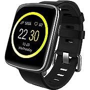 Willful smartwatch con Pulsómetro,Impermeable IP68 Reloj inteligente,Fitness Tracker con cronómetro, Monitor de sueño,monitor de ritmo cardíaco,Pulsera Actividad pulsera inteligente para Android y IOS