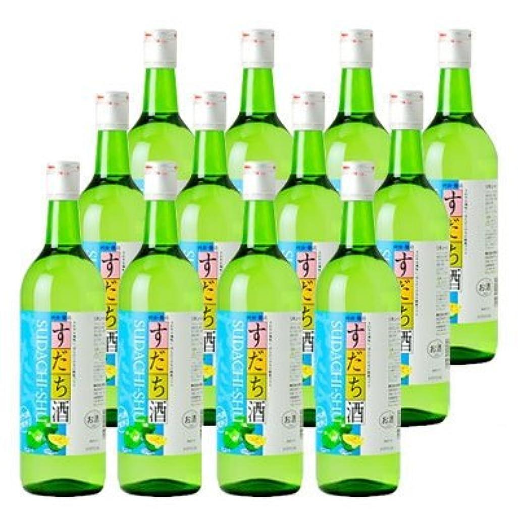 ピアース視聴者羨望鳴門鯛 すだち酒 720ml 12本組【蔵元直送】本家松浦酒造 パーティー